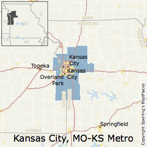 City map Kansas City Metro Missouri