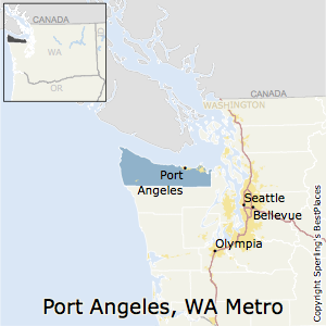 Port_Angeles,Washington Metro Area Map