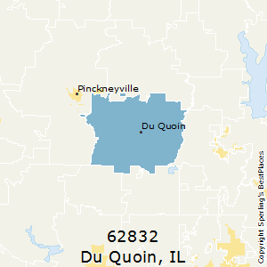 Du_Quoin,Illinois(62832) Zip Code Map