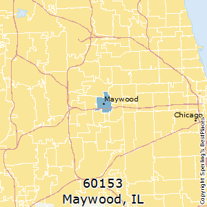 Maywood,Illinois(60153) Zip Code Map