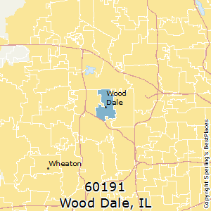 Wood_Dale,Illinois(60191) Zip Code Map