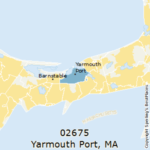 Yarmouth_Port,Massachusetts(02675) Zip Code Map