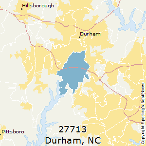 Durham,North Carolina(27713) Zip Code Map