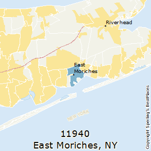 East_Moriches,New York(11940) Zip Code Map
