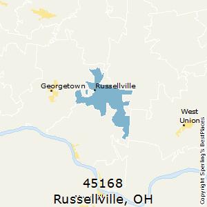 RUSSELLVILLE Zip Code (OH)