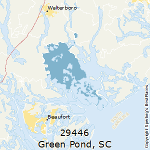 Green_Pond,South Carolina(29446) Zip Code Map