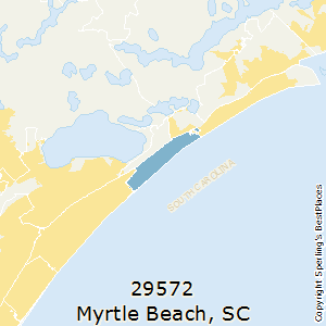 Myrtle_Beach,South Carolina(29572) Zip Code Map