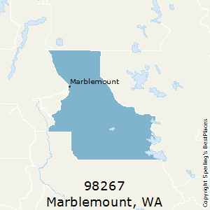 Marblemount,Washington(98267) Zip Code Map