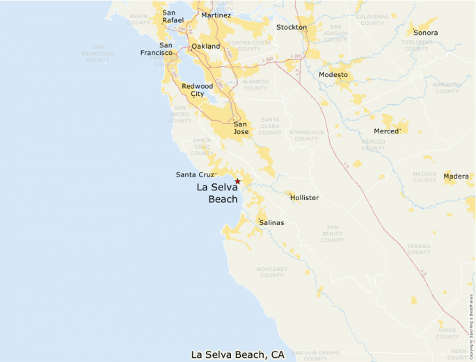 La Selva Beach Ca Place Map Best Places To Live Compare Cost Of Living Crime Cities Schools