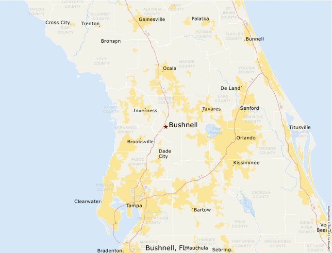Bushnell Florida Map.Best Places To Live Compare Cost Of Living Crime Cities Schools