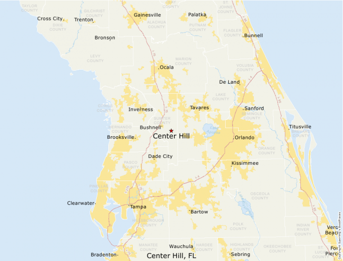 Center Hill Florida Map.Best Places To Live Compare Cost Of Living Crime Cities Schools