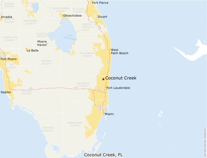 Coconut Creek Florida Map.Best Places To Live Compare Cost Of Living Crime Cities Schools