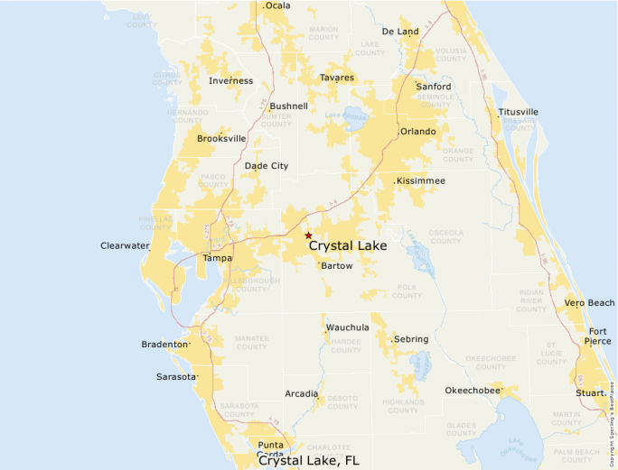Crystal Lake Florida Map.Best Places To Live Compare Cost Of Living Crime Cities Schools