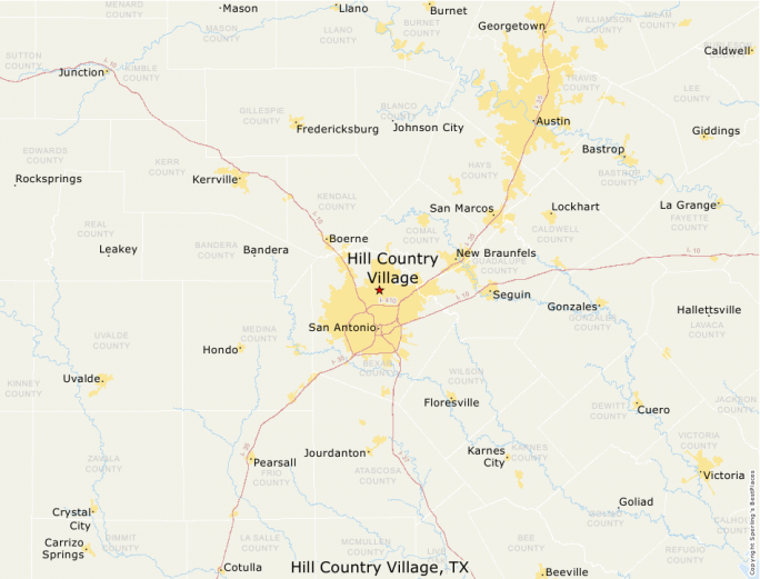 Map Of Texas Hill Country Cities.Best Places To Live Compare Cost Of Living Crime Cities Schools