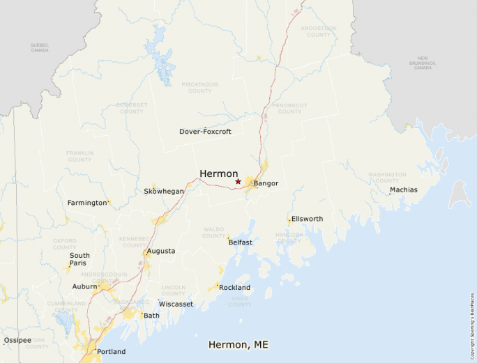Hermon Maine Map.Best Places To Live Compare Cost Of Living Crime Cities Schools