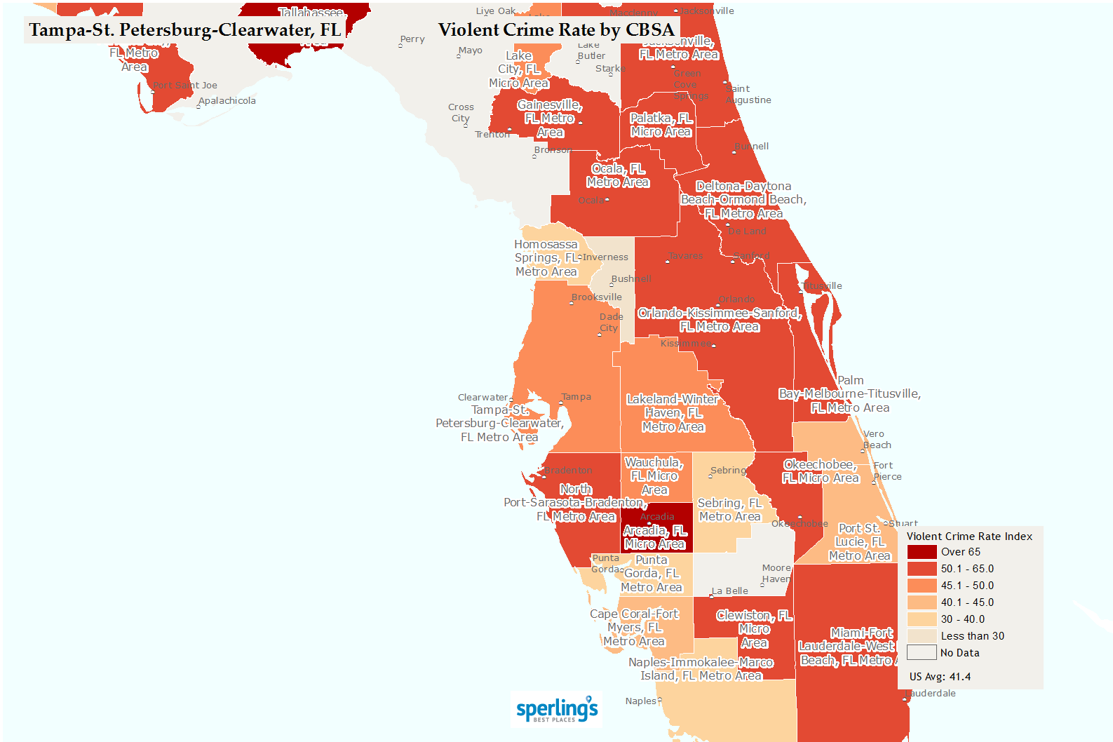 Where Is New Port Richey Florida On Florida Map.Best Places To Live Compare Cost Of Living Crime Cities Schools