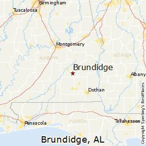 Comparison: Montgomery, Alabama - Brundidge, Alabama