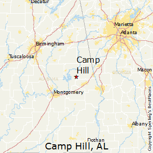 Best Places to Live in Camp Hill, Alabama on