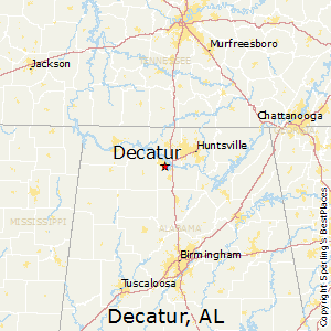 Best Places to Live in Decatur, Alabama