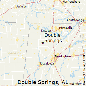Double_Springs,Alabama Map
