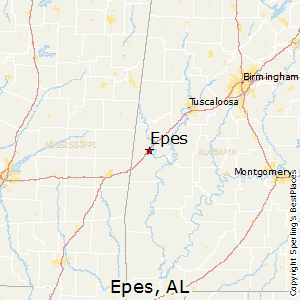 Epes,Alabama Map