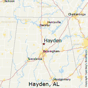 Hayden,Alabama Map