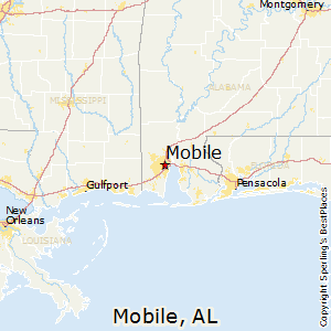 Best Places to Live in Mobile, Alabama