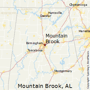 Mountain_Brook,Alabama Map