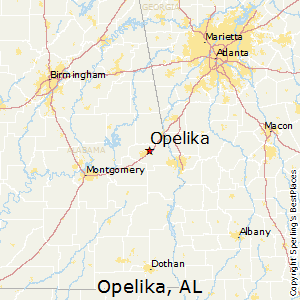 Opelika Zip Code Map.Best Places To Live In Opelika Alabama