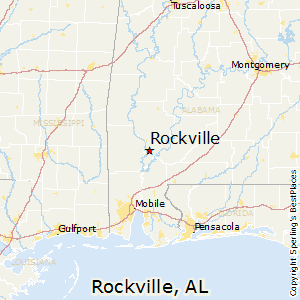 Rockville,Alabama Map