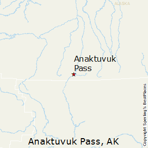 Anaktuvuk_Pass,Alaska Map