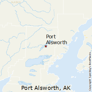 Port_Alsworth,Alaska Map