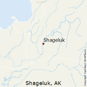 Shageluk,Alaska Map