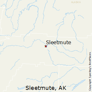 Sleetmute,Alaska Map