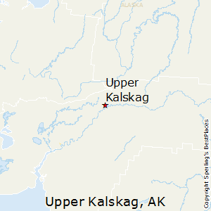 Upper_Kalskag,Alaska Map
