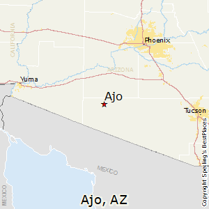 Ajo Arizona Map Best Places to Live in Ajo, Arizona
