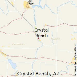 Crystal_Beach,Arizona Map