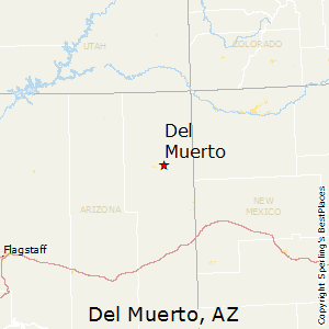 Del_Muerto,Arizona Map