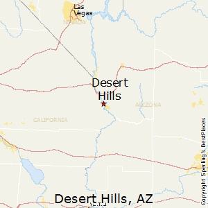 Desert_Hills,Arizona Map