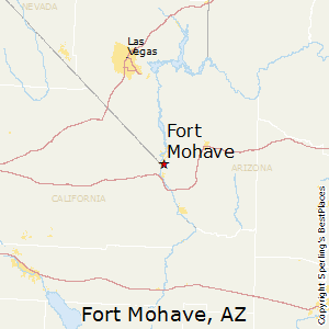 Fort_Mohave,Arizona Map