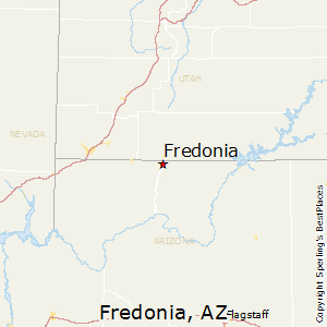 Fredonia,Arizona Map
