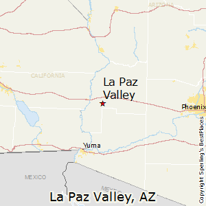 La_Paz_Valley,Arizona Map