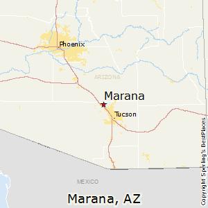 Vail Arizona Map.Comparison Vail Arizona Marana Arizona