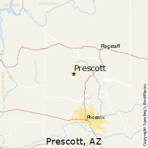 Map Of Arizona Prescott.Prescott Arizona Cost Of Living