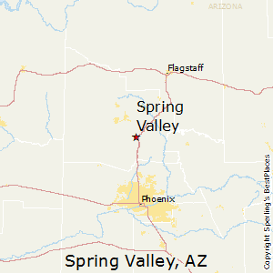 Spring_Valley,Arizona Map