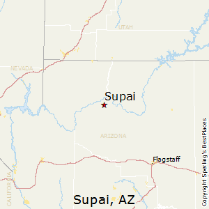 Supai Arizona Map.Supai Arizona Voting