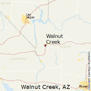 Walnut_Creek,Arizona Map