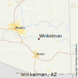 Winkelman az zip code