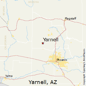 Yarnell Arizona Map.Best Places To Live In Yarnell Arizona