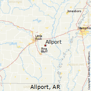Allport,Arkansas Map